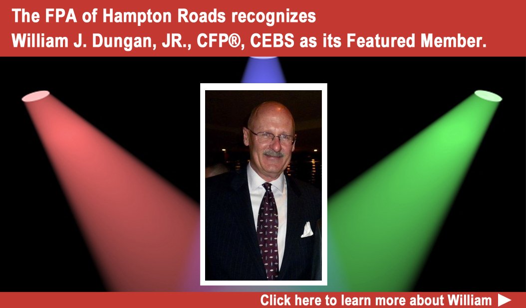 FPA of Hampton Roads Featured Member William J. Dungan